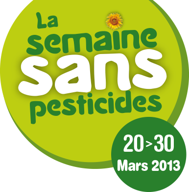 Logo semaine sans pesticides