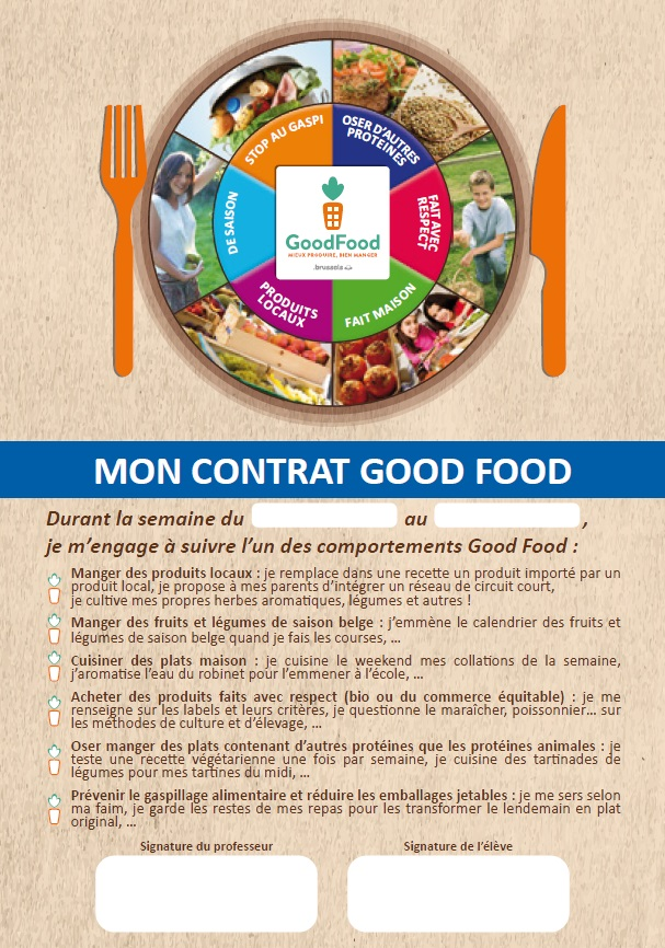 Game of Good : mon contrat Good Food